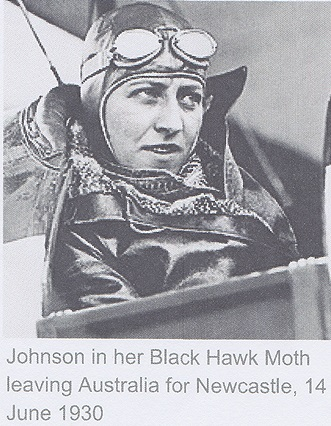 First Officer Amy Johnson