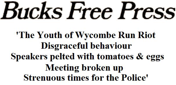 Bucks Free Press