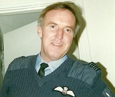 Wing Cmdr Peter Bowen
