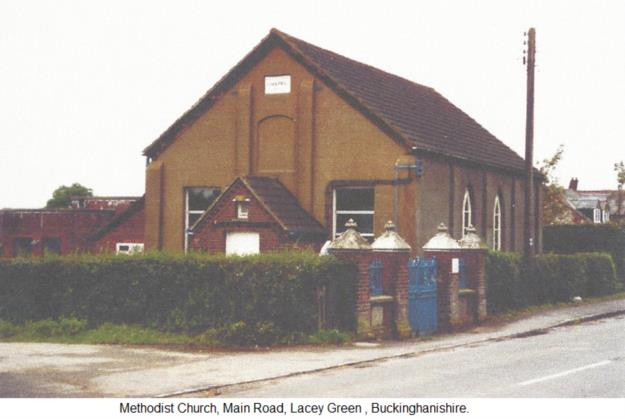 Methodist Church, Main Road, Lacey Green, Buckinghanishire.