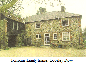 Tomkins Family Home, Loosley Row