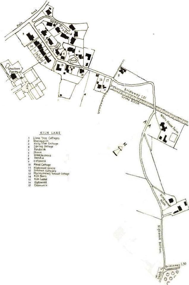 Kiln Lane Map