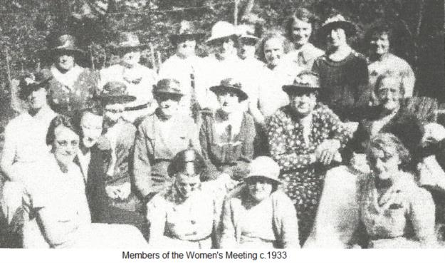 Members of the Women's Meeting c.1933