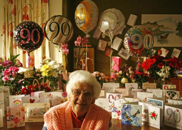 Bette at 90