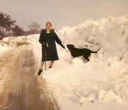 Snow depth in 1963