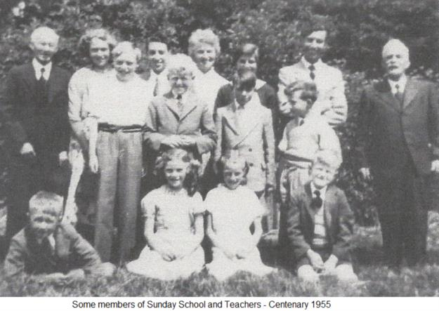 Sunday School & Teachers 1955