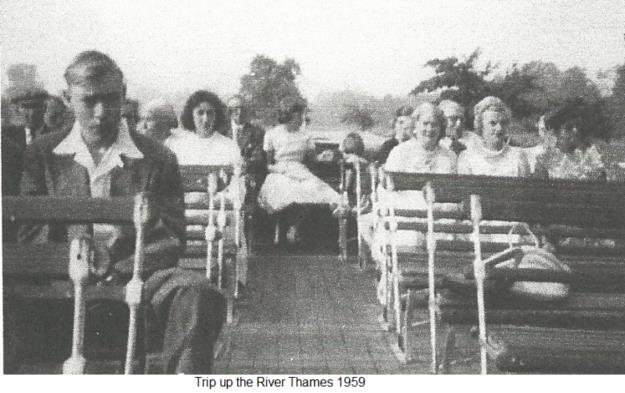 Trip on the Thames 1959