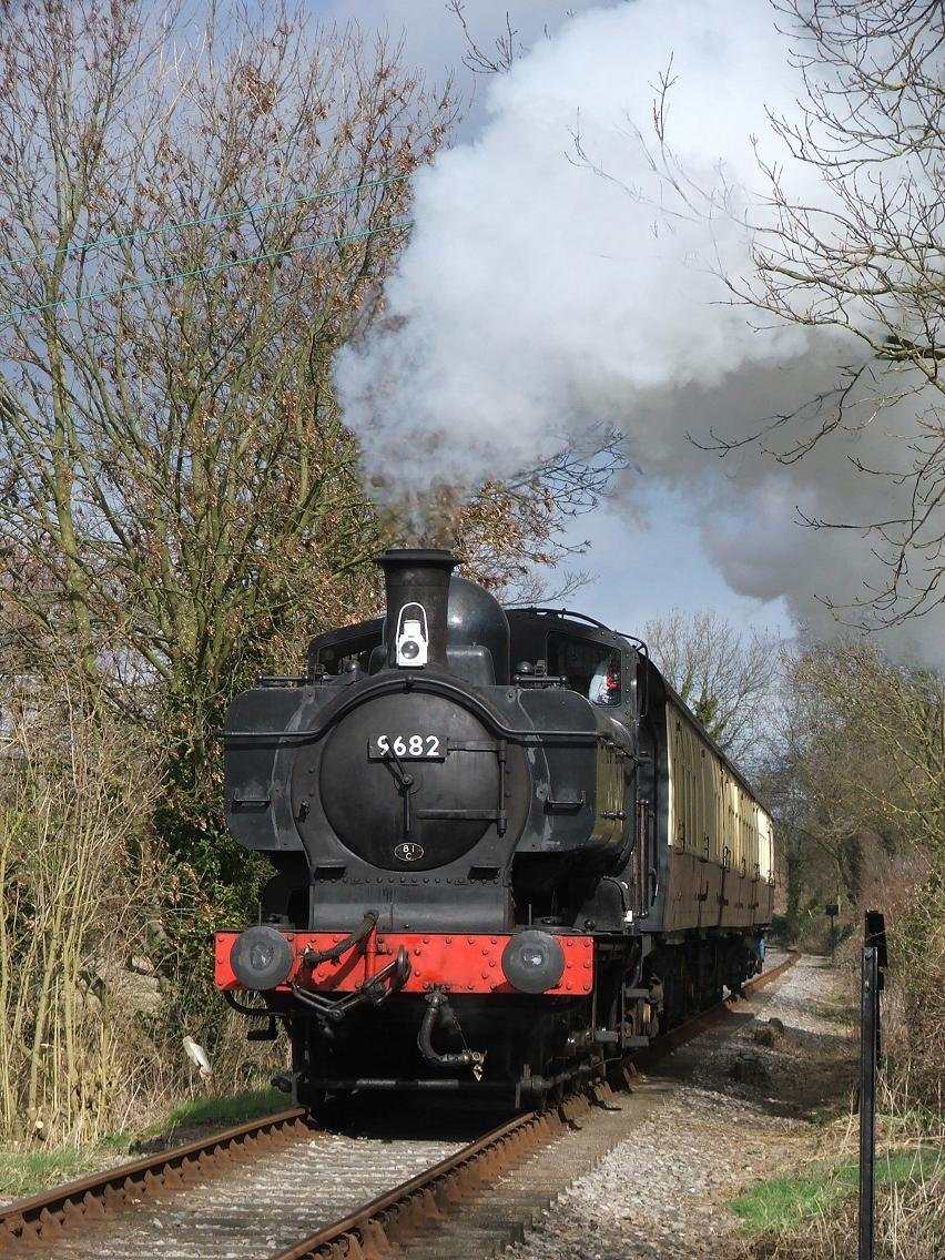 Princess 	 Risborough to Chinnor Steam Train