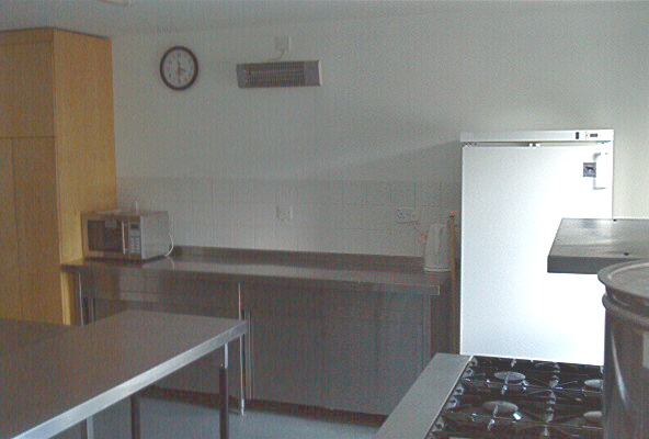 Fridge, additional surface area and microwave