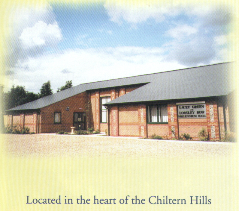 The Millenum Hall in the heart of 	the Chilterns
