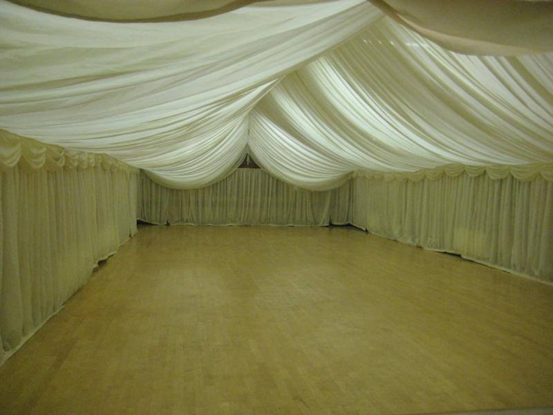 Marquee lined